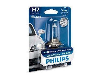Žarnica H7 Philips Extra White Light, 1 kos