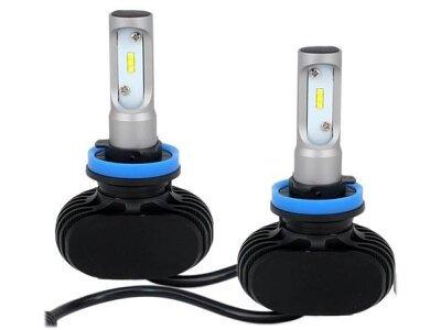 Žarnica H8 LED, 6000-6500K,25W, 2 kosa, CSP čipovje