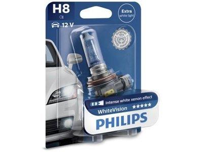 Žarnica H8 Philips WhiteVision - PH12360WHVB1