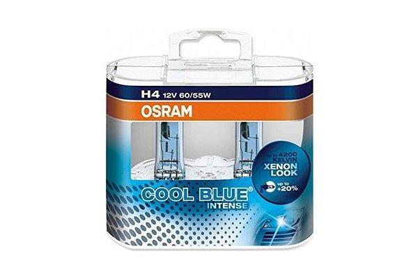 Žarnica (modra) H4 12V/55W P43t, 20% več svetilnosti