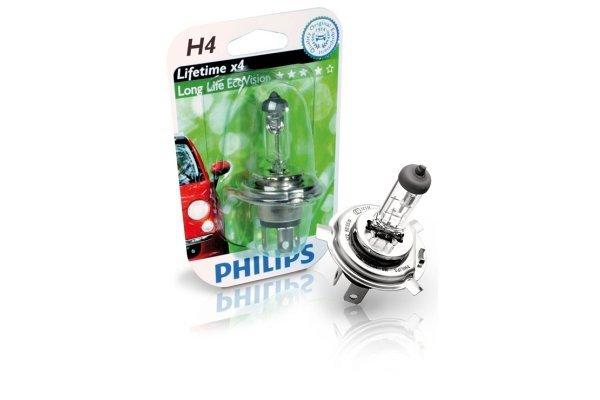 Žarnica Philips Eco Vision 12V H4 60/55W