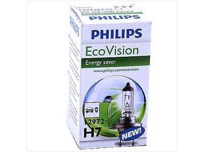 Žarnica Philips Eco Vision 12V H7 55W
