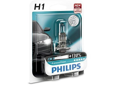 Žarnica Philips H1 X-tremeVision - PH12258XV+B1