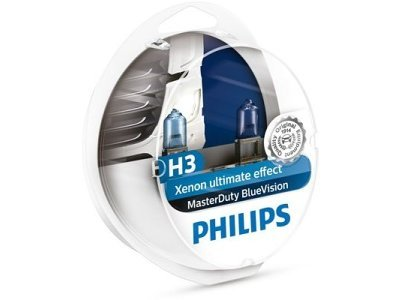 Žarnica Philips H3 MasterDuty BlueVision - PH13336MDBVS2 (2 kosa)