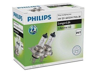 Žarnica Philips H4 LongerLife - PH12342ELC2 (2 kosa)