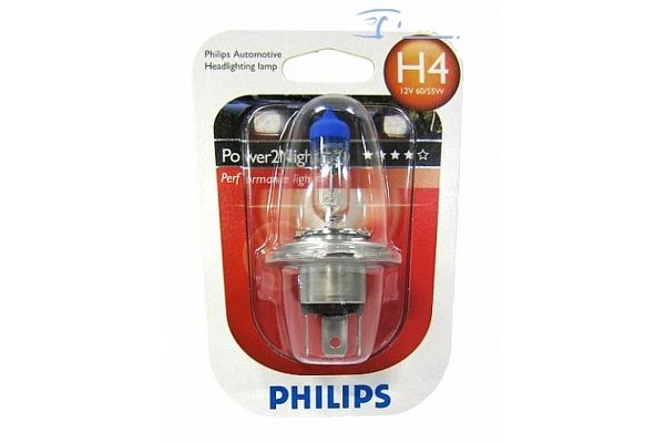 Žarnica Philips Power2 Night 12V H4 60/55W GT150