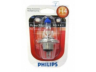 Žarnica Philips Power2 Night 12V H4 60/55W GT150