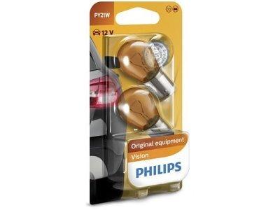 Žarnica PY21W Philips - PH12496NAB2 (rumena, 2 kosa)