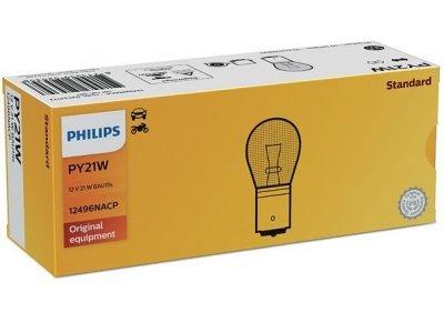 Žarnica PY21W Philips - PH12496NACP (rumena)