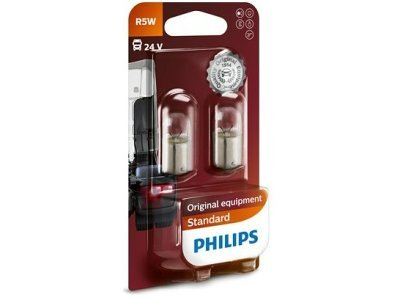 Žarnica R5W Philips - PH13821B2 (2 kosa)