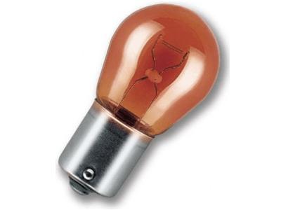 Žarnica (rumena) P1W, 12/21W BAU15s OSRAM