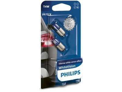 Žarnica T4W Philips WhiteVision- PH12929NBVB2 (2 kosa)