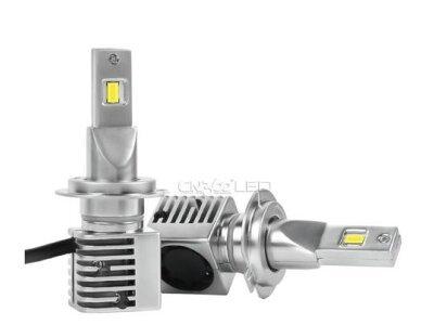 Žarnica + upor LED H7 M1, 6500K, 5000 Lm, 2 kosa