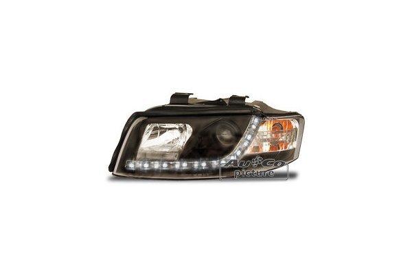 Žaromet Audi A4 (B6) 00- DRL izgled črni