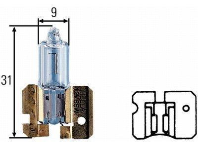 Žarulja H4 LED, 6000-6500K,25W, 2 komada, CSP čipovje