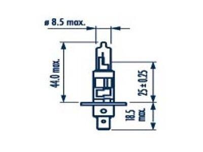 Žarulja Narva H1 12V/55W, Range Power - NAR48630SET (plava, 2 komada)