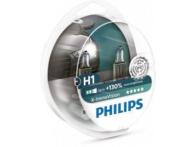 Žarulja Philips H1 X-tremeVision - PH12258XV+S2 (2 komada)