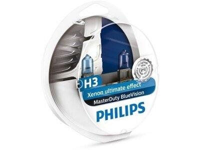 Žarulja Philips H3 MasterDuty BlueVision - PH13336MDBVS2 (2 komada)