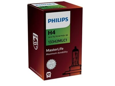 Žarulja Philips H4 MasterLife - PH13342MLC1