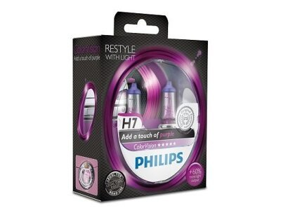 Žarulja Philips H7 ColorVision Purple - PH12972CVPPS2 (2 komada)