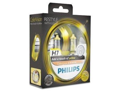 Žarulja Philips H7 ColorVision Yellow - PH12972CVPYS2 (2 komada)