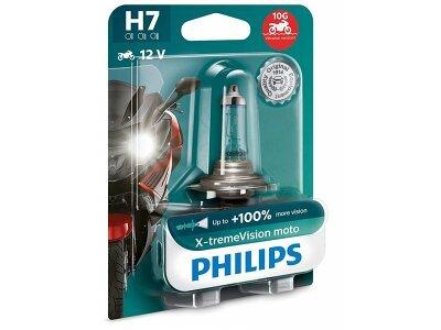 Žarulja Philips H7 XtremeVision Moto - PH12972XVBW