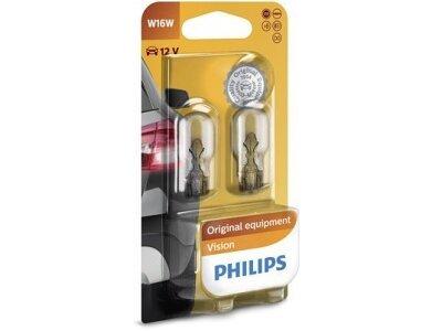 Žarulja W16W Philips - PH12067B2 (2 komada, Zadnje svjetlo)
