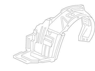 Zaštita ispod blatobrana 3859FL1T - Honda Stream 01-06