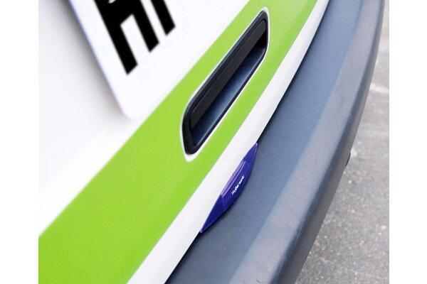 Zaštitnik za poklopac prtljažnika (15 x 2,2 cm), vijola