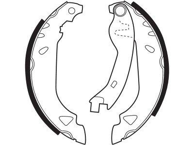 Zavorna čeljust 163855 - Fiat, Lancia
