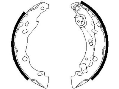 Zavorna čeljust 164058 - Renault, Dacia