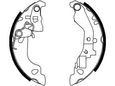 Zavorna čeljust 62104 - Fiat