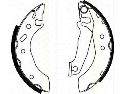 Zavorna čeljust S72-1018 - Ford