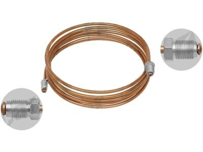Zavorna cev S76-0450BA, bakrena, 4500 mm