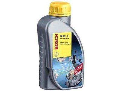 Zavorna tekočina DOT3 1L BOSCH
