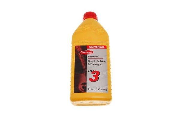 Zavorna tekočina DOT3 1L DELPHI