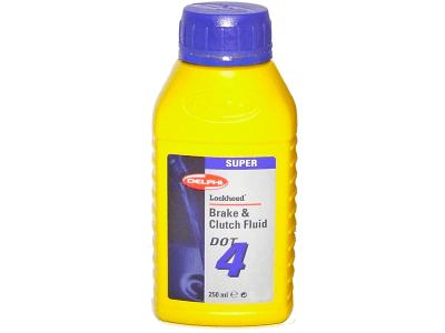 Zavorna tekočina DOT4 250ml DELPHI