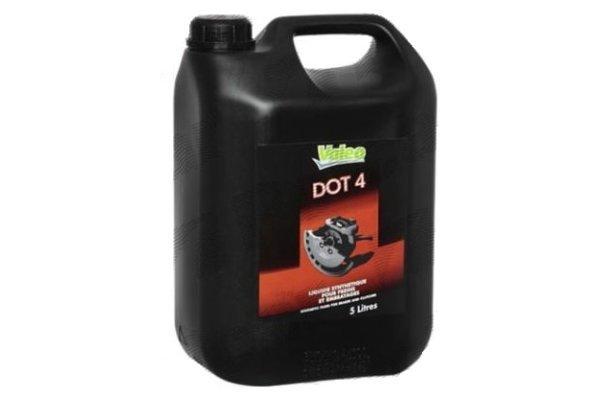 Zavorna tekočina DOT4 5 L VALEO
