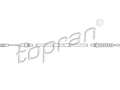 Žica ručne kočnice Ford Galaxy 95-10, stražnja, 1293 mm