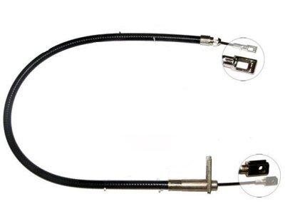 Žica ručne kočnice Mercedes-Benz Razred C 93-00,  stražnji, desno, 929/700 mm