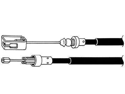 Žica ručne kočnice Peugeot 806 94-02, natrag, desno, 2205/2080 mm