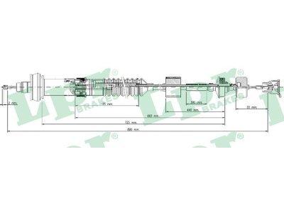 Žica sklopke C0028C - Citroen Xsara Picasso 99-11