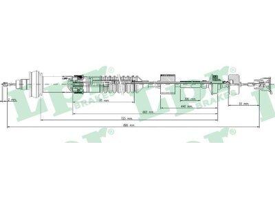 Žica sklopke Citroen Xsara Picasso 99-11