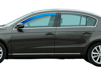 Zračni branik Hyundai Santa Fe 12-18, 5V, prednji set