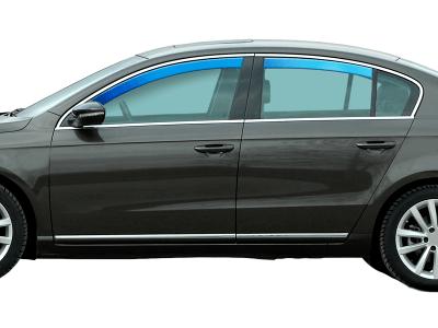 Zračni branik Mercedes-Benz Razred C (W203) 00-07, sedan, 5V, sprijeda + straga