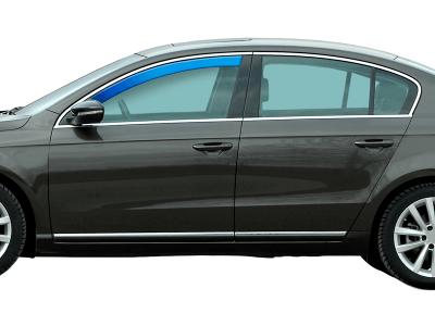 Zračni odbojnik Ford Fiesta MK7 17-, 5V, spredaj